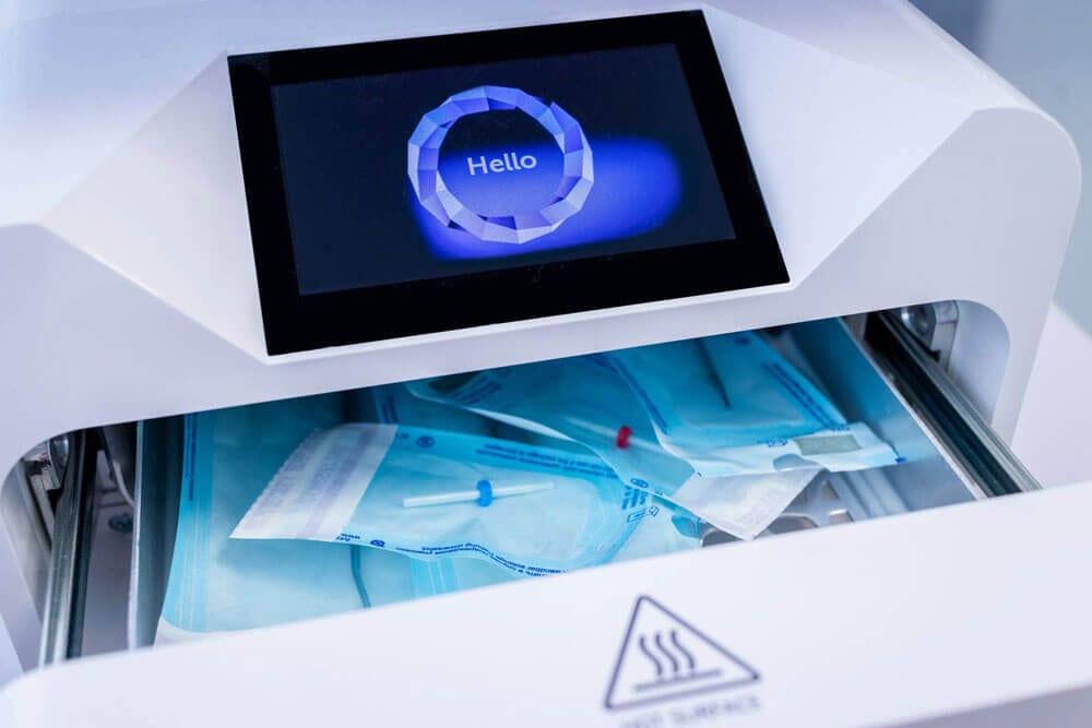 W gabinecie kosmetycznym Dioryt używany jest autoklaw SteamJet firmy Enbio